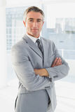 Businessman looking at the camera Stock Photography