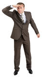 Businessman looking forward Stock Image