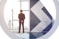 Employment and research concept Royalty Free Stock Image