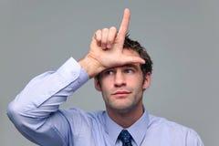 Businessman loser Royalty Free Stock Image