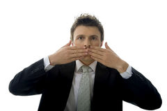 Speak No Evil Stock Photos
