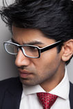 Businessman man with glasses Royalty Free Stock Images