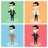 Businessman Mascot Vector Stock Photos