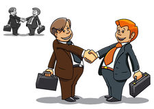 Businessman meeting Royalty Free Stock Images