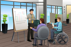 Businessman Meeting in Office Royalty Free Stock Images