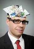Businessman mind Stock Photo