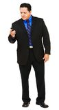 Businessman on the mobile phone Royalty Free Stock Photo
