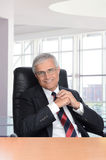 Businessman in Modern Office Setting Stock Photos