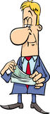 Businessman with money Royalty Free Stock Photo