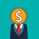 Businessman money Stock Image