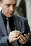 Businessman On Move Stock Photography