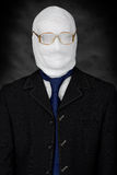 Businessman - mummy Stock Image