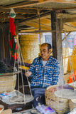 Businessman in Myanmar Royalty Free Stock Photos