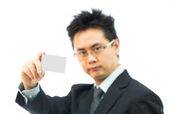 Businessman name card Royalty Free Stock Photos