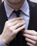 Businessman necktie Royalty Free Stock Photo