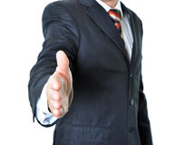 Businessman offering a handshake Stock Image