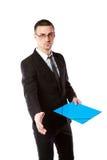 Businessman offering handshake Stock Image