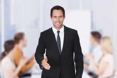Businessman Offering Handshake Royalty Free Stock Image