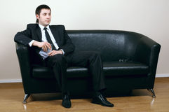 Businessman in office Royalty Free Stock Images