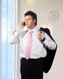 Businessman in the office Royalty Free Stock Images