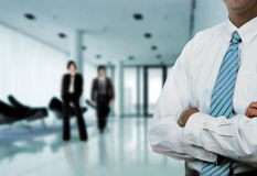 Businessman Office Stock Image