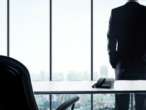 Businessman in office Stock Photos