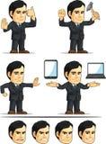 Businessman or Office Executive Customizable Masco Royalty Free Stock Photos