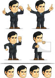 Businessman or Office Executive Customizable Masco Stock Photography