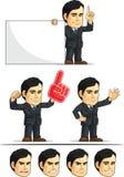 Businessman or Office Executive Customizable Masco Royalty Free Stock Photo