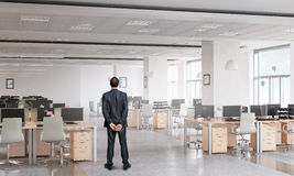 Businessman in office interior Stock Image