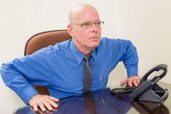 Businessman in office Stock Photo