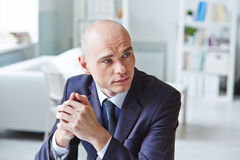 Businessman at office Royalty Free Stock Photography