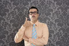 businessman ok positive hand gesture Royalty Free Stock Image