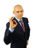 businessman ok show sing στοκ φωτογραφίες με δικαίωμα ελεύθερης χρήσης