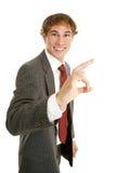 businessman okay young Стоковые Фотографии RF