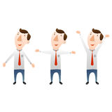 Businessman with open arms. There is businessman with open arms Royalty Free Stock Image