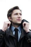 Businessman outdoor Stock Image