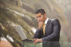 Businessman Outdoor Royalty Free Stock Image