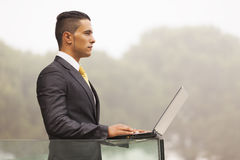 Businessman Outdoor Stock Images