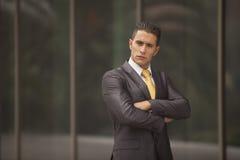 Businessman Outdoor Stock Photo