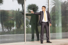 Businessman Outdoor Royalty Free Stock Photography