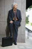 Businessman outdoors. Stock Image
