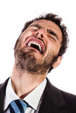 Businessman in pain Stock Photography