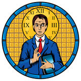 Businessman Pantocrator Icon Royalty Free Stock Photography