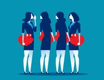 Businessman people with piggy banks conversing. Concept business vector illustration vector illustration