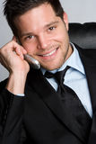 Businessman on Phone Stock Photos