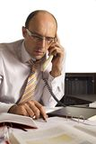 Businessman on phone Stock Photography