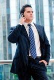 Businessman On Phone Stock Photos
