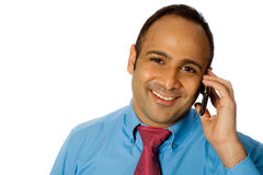 Businessman On Phone Royalty Free Stock Image