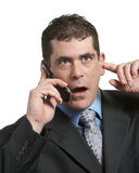 Businessman On Phone Stock Images